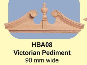 Victorian Pediment (90W mm)