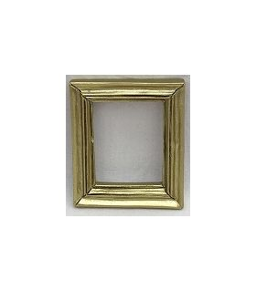 Resin Frame Gold (48x40x6mm)