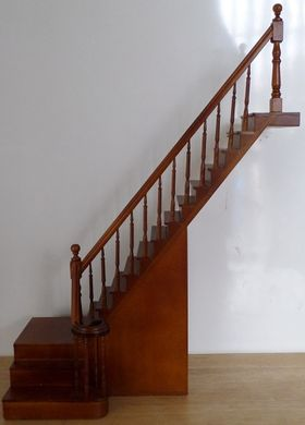 Complete Staircase Right  with turn (265mm)