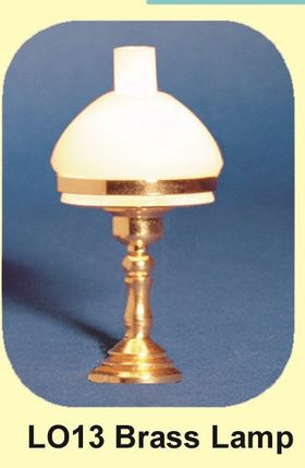 Table Lamp with brass Turned Stem Light (45mmH)