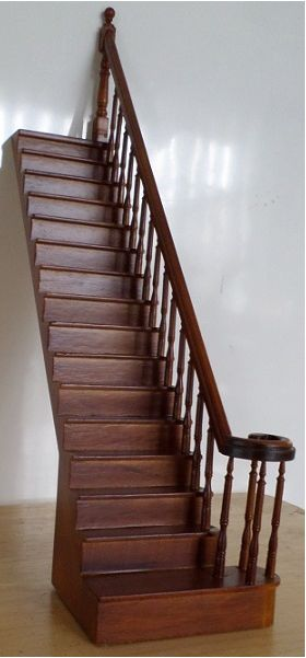 Complete Staircase Right  Straight (252mm)