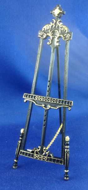 'Gallery' Easel Black with Gold (155Hmm) By Bespaq