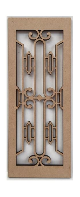 Art Deco Panel (66 x 170mm)