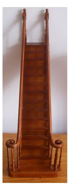 Complete Fancy Staircase Centre  Straight (250mm)